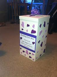How To Decorate A Wedding Post Box Handmade wedding postbox for cards and gifts Flat pack box and 91
