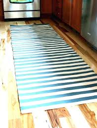 black and white striped runner rug teal present amazing