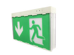 Edge Lit Exit Light Fire Light Lighted Ire Emergency Super Led Edge Lit Exit Sign View Emergency Super Led Edge Lit Exit Sign Baiyi Product Details From Shinging