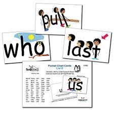 Child1st Publications Llc Snapwords List B Sight Word Pocket Chart Cards