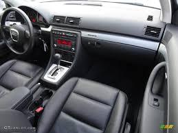 2008 Audi A4 2.0T quattro S-Line Sedan Black Dashboard Photo ...