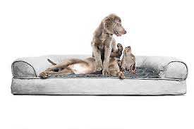 big dog furniture. Pet Supplies Furniture Big Dog Bed Sofa Couch Cushion Puppy Large Plush Gray New