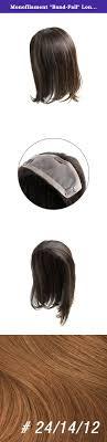 Monofilament Band Fall Long Half Wig