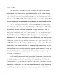 fate vs will macbeth essay zoom zoom