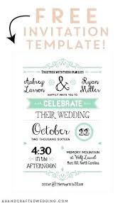 make your own birthday invitations free printable free printable wedding invitation template ideas make your