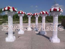 free 6pcs lot wedding roman pillars event column party direction signs