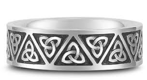 mens celtic knot wedding bands. antiqued celtic triquetra trinity knot wedding band mens bands n