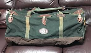 orvis duffle estate canvas leather bag travel hunting fishing orvis duffle medium bags