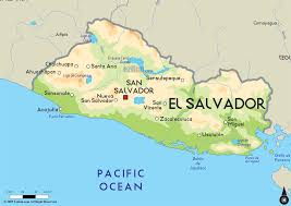 el salvador map cities