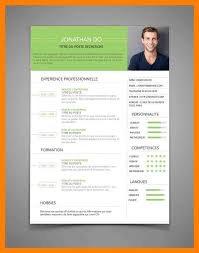 6+ Curriculum Vitae Francais | Self Introduce