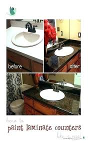 best way to paint laminate countertops painting over laminate ugly counters learn how to refinish laminate