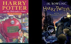 harry potter 4 book cover harry potter covers then and now telegraph