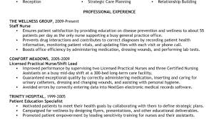 Practical Nursing Resumes Lpn Resume Example Licensed Practical