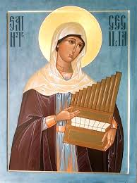 Image result for saint cecilia