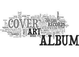 Album Word Album Cover Art Part One Text Word Cloud Concept Royalty Free