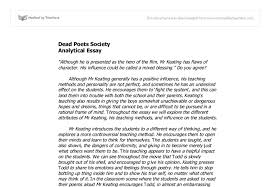dead poets society university education and teaching marked by  document image preview