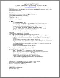 Support Technician Resume Desktop Support Technician Resume Sample Lauren Eastwood 532