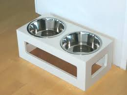 dog bowl stands single raised stand uk pet china iron feeder stainless steel white outdoor double dog bowl stands