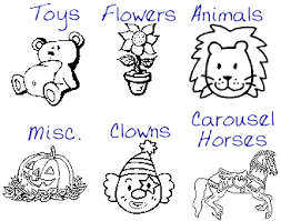 Small Picture Free Coloring Pages Carousel Horses