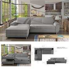 bmf life modern corner sofa bed