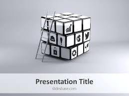 Color Cube Templates Image And Powerpoint Template Rubiks Animated ...