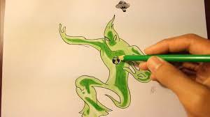 drawn alien ben 10 ultimate alien