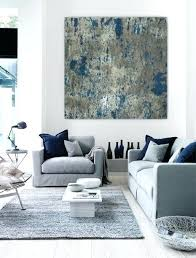 >navy blue and gray living room abstract canvas wall art large  navy blue and gray living room abstract canvas wall art large abstract painting teal blue navy grey gray white canvas art wall art big huge painting