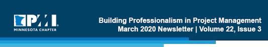 PMI Minnesota Chapter March Newsletter