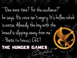 "Hunger Games Quotes Cool 48 Quotes From ""The Hunger Games"" That Didn't Make The Film Page"