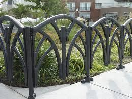 Cast Iron Fence Designs Garden Fence For Public Spaces Wire Mesh Cast Iron