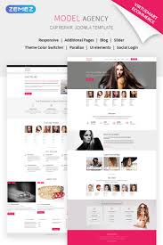 Web Page Design Models Model Agency Vm Joomla Template