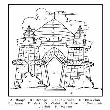 Coloriage Magique Chateau Disney
