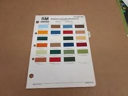 Details About 1975 75 Ford Truck F150 F250 Bronco Pickup Paint Color Chip Chart Sheet Sample