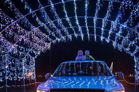 Fifth Third Ballpark Lights More Than A Million Lights Create Christmas Scene At