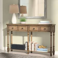 distressed entry table. preusser console table distressed entry