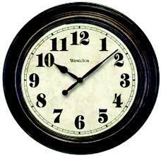 westclox 32213 wall clock 24 inch classic large hover to zoom