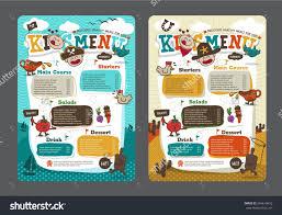 Image Result For Kids Menu Designs Book Design Layout
