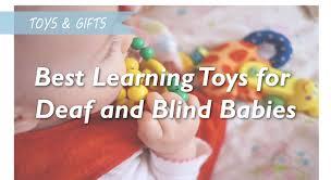 Toys for deaf babies