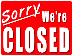 office will be closed sign template office closed sign template best and various templates