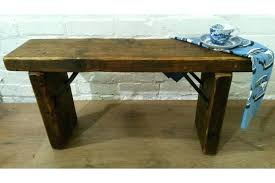 reclaimed pine dining table large industrial hand forged wrought iron solid reclaimed pine dining table bench