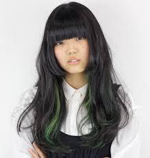 ハイライトロングの人気ヘアスタイルおしゃれな髪型画像 Stylistd