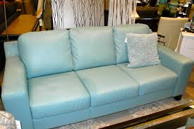 teal blue furniture. Light Blue Furniture. Cute Cushion Placed On Comfortable Leather Sofa At Contemporary Sitting Teal Furniture