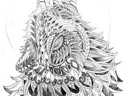 19 Wolf Coloring Pages For Adults Coloring For Adults Kleuren Voor