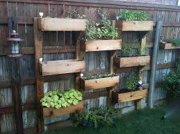 Small Picture Outdoor Herb Garden DIY Pallet Vertical Herb Garden Hanging