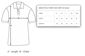 Adidas Polo Size Chart Adidas Shirt Size Chart Length Best Picture Of Chart
