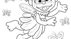 Coloring Pages Sesame Street Sesame Street Cookie Monster Coloring