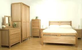 natural wood bedroom furniture wardrobe set solid wood bedroom furniture set in natural finish