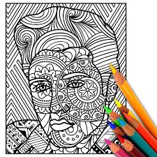 Small Picture ELVIS Coloring Page Adult Coloring Page Adult Coloring