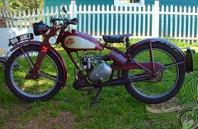 1946 james motorcycle with villiers 9d 122cc single cylinder two stroke engine