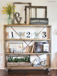 19 farmhouse style bookshelf ideas